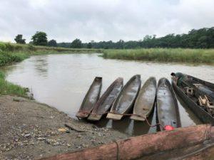 準備上獨木舟