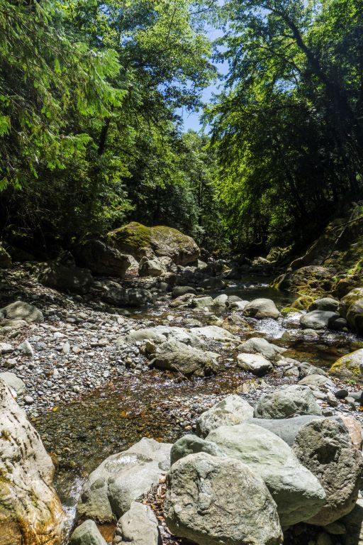 大濁水南溪溪谷