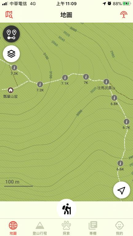 Hikingbook 地圖資訊