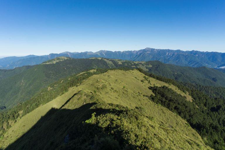鈴鳴山展望(雪山系方向