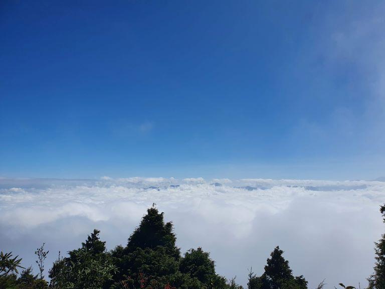 巴博庫魯山雲海